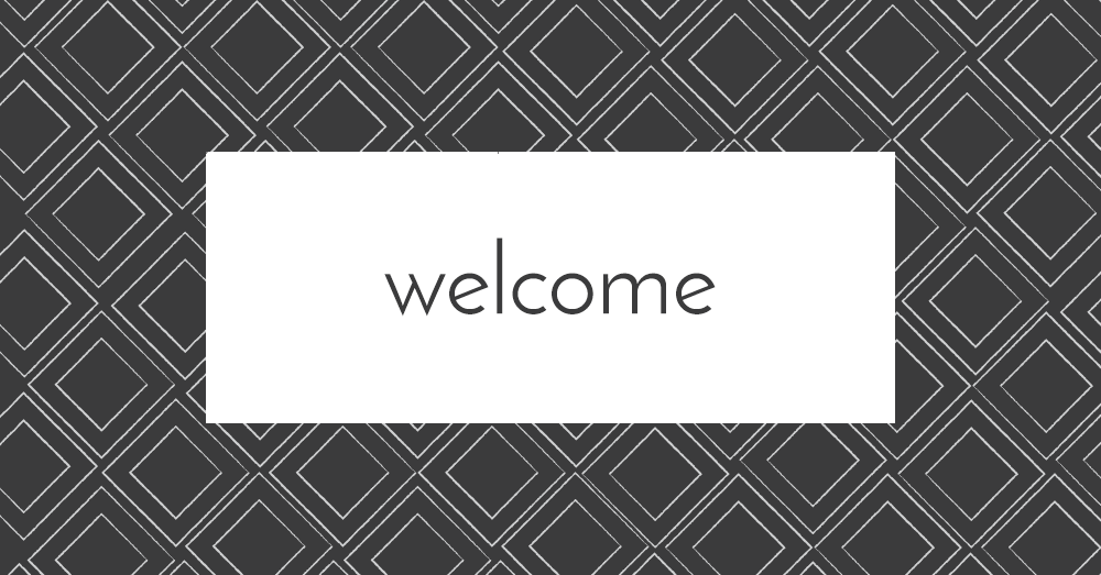welcome pattern 2